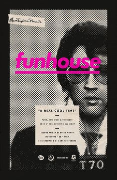 Design Work Life » Michael George Haddad: Funhouse Posters