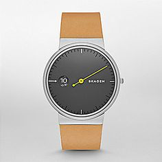 Ancher Mono Leather Watch
