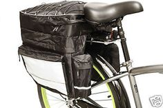 Ez Schlep Panniers are spacious and can hold up to 2,165 cubic inches.