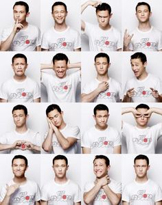 The Many Faces of Joseph Gordon-Levitt, maybe the best looking man in Hollywood.