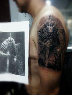 Tatuaje legionario romano, Roman soldier  tattoo