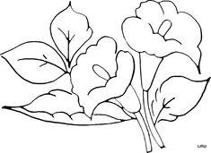 dibujos de flores para pintar en tela manteles - Buscar con Google
