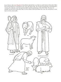 New Testament Scripture Figures, The Good Shepherd