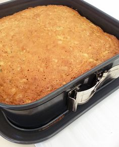 Courgette and Orange Cake