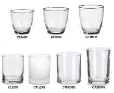 Candle Jars Wholesale | Votives | Specialty Bottle $1.30 each