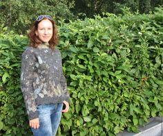Купить Жакет валяный Осенние бабочки - серый, жакет валяный, жакет, жакет…