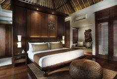 Bali-inspired room