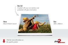 Protect your memories in a beautiful gift type box with your own photo printed on the lid Personalised Box, Box With Lid, Memories, Type, Printed, Gift, Beautiful, Memoirs, Souvenirs