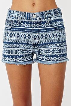 Indian Summer Cutoff Shorts