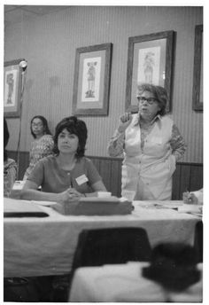 """Francisca Flores (December 1913, San Diego California - April 1996) was a chicana activist and fighter against women's oppression. Flores is famous for her quote regarding chicana feminists being referred to as betraying chicano culture and heritage, Flores says, """"Betrayal of chicano culture and heritage,"""" Flores states, """"our culture hell,"""" which was used as a slogan for the chicana feminist movement"""