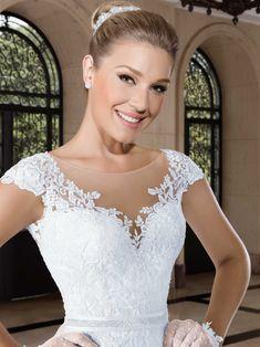 Vestidos de noiva - Coleção Callas (22) Detalhe frente