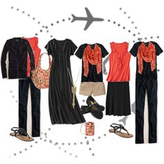 mix and match travel by sarah-akers, via Polyvore