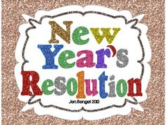 FREEBIE...help your students create their new year's resolutions with this graphic organizer. Happy New Year!!