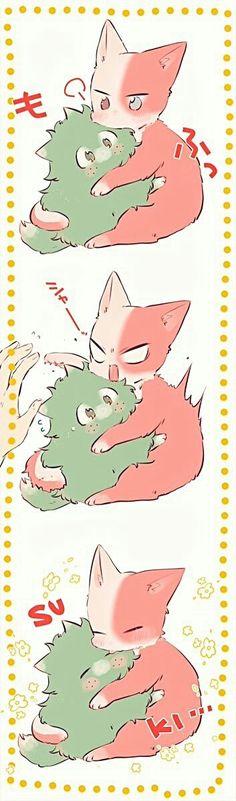 Kawaii (♥ ∀ `) / Kawaii (♥ ∀ `) / My heroic Academy is a Japanese Super Hero Squad written an