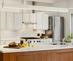 Mid Century Modern White Kitchen Island Style Cabinets Studio