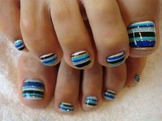 12 + Summer Themed Toe Nail Art Designs, Ideas, Trends & Stickers 2014