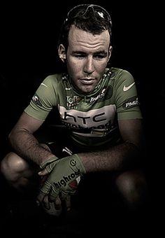 MarkCavendish, Tour De France by Pete Goding he's got to be my idol .