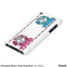 Customize Valxart  Virgo Virgo friendship iPod Case-Mate Case