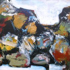 Acryl på lærred, 100 x 100 cm, 2007