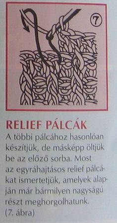 relief pálcák