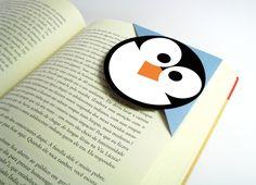 Lembrancinha Marcador de Página Pinguim