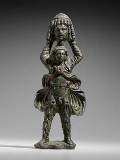 Bronze figurine of Attis. Roman. Imperial Period. 1st–3rd century A.D.   Museum…