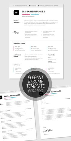 Free ResumePack To Download  Graphic Design  Editorial Layout