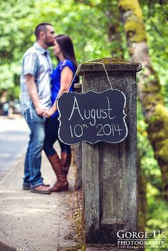 Super Save The Date Photo Ideas ❤ See more: http://www.weddingforward.com/save-the-date-photo-ideas/ #weddings