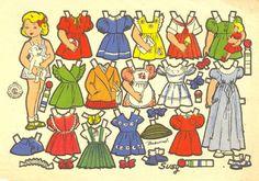 Spanish: Recortable de Beaumont para Recortes Rosita – Editorial Roma 1950 English:  Cutouts/Paper Dolls of Beaumont for Rosita Cutouts/Paper Dolls - Editorial Rome 1950