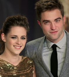Kristen Stewart and Robert Pattinson- LOVE these guys!
