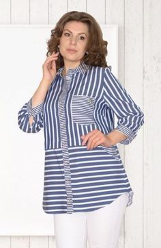 Clothes Plus Size Women Tunics 17 Ideas Sewing Clothes Women, Trendy Clothes For Women, Boho Outfits, Trendy Outfits, Fashion Outfits, Modest Fashion, Blouse Styles, Blouse Designs, Sewing Blouses