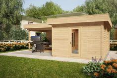 Corner Log Cabin Available In Ireland