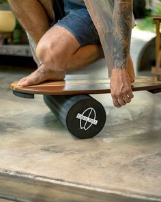 Workout Room Home, Workout Rooms, Wooden Surfboard, Outdoor Gym, Balance Board, Train, Shapes, Play, Fitness