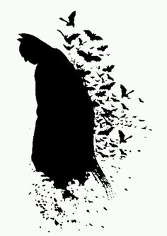 Batman.. would make a cool tattoo