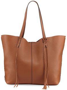 ecf63ddbc576 Rebecca Minkoff Medium Unlined Whipstitch Tote Bag  aff