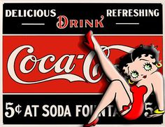 bettyboop with coke