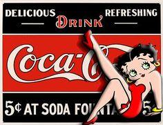 coca cola betty boop - Buscar con Google