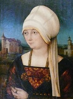Bernhard Strigel, Bildnis einer Dame, 1520