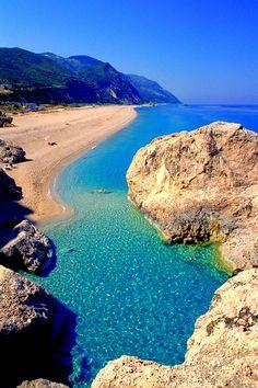 Insel Lefkada in Griechenland mit traumhaftem Strand ♥ stylefruits Inspiration  Da war ich halt schon.
