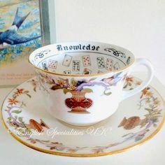 - イギリス雑貨と紅茶とハーブティーのお店 English Specialities ★VINTAGE★AYNSLEY Fortune Telling C & S Wembley1924