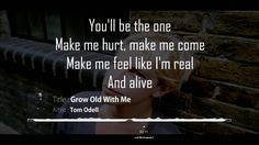Grow Old With Me - Tom Odell  What a sweet little first dance song! #weddingmusic
