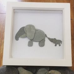 2 отметок «Нравится», 1 комментариев — Handmade Pebble Art (@handmadepebbleart) в Instagram: «*sold piece* mummy and baby elephant! #handmadepebbleart #pebbleart #handmadegifts #giftideas…»