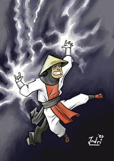 Mortal Kombat - Raiden Lord Raiden, Raiden Mortal Kombat, Video Games, Gaming, Fan Art, Artist, Artwork, Movie Posters, Videogames