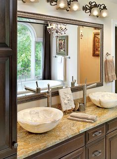1000 Images About Bathroom Mirror Ideas On Pinterest Master Bathrooms Gre