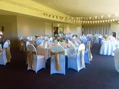 Hessian Bunting and Sashes