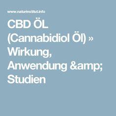 CBD ÖL (Cannabidiol Öl) » Wirkung, Anwendung & Studien