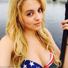 All American beauty: Gage Golightly is best known for playing Erica Reyes on MTV series Teen Wolf