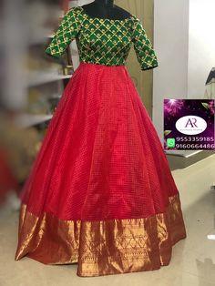 Gown Party Wear, Party Wear Indian Dresses, Indian Gowns Dresses, Dress Indian Style, Long Dress Design, Stylish Dress Designs, Designs For Dresses, Kalamkari Dresses, Ikkat Dresses
