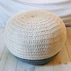 Pouf Crochet by lacasadecoto on Etsy