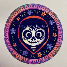 Read Miguel Rivera from the story ★Imágenes de Coco★ by (Imelda Rivera) with reads. Coco Disney, Disney Love, Disney Art, Disney And Dreamworks, Disney Pixar, Halloween Party Themes, Disney Drawings, Sugar Skull, Painted Rocks